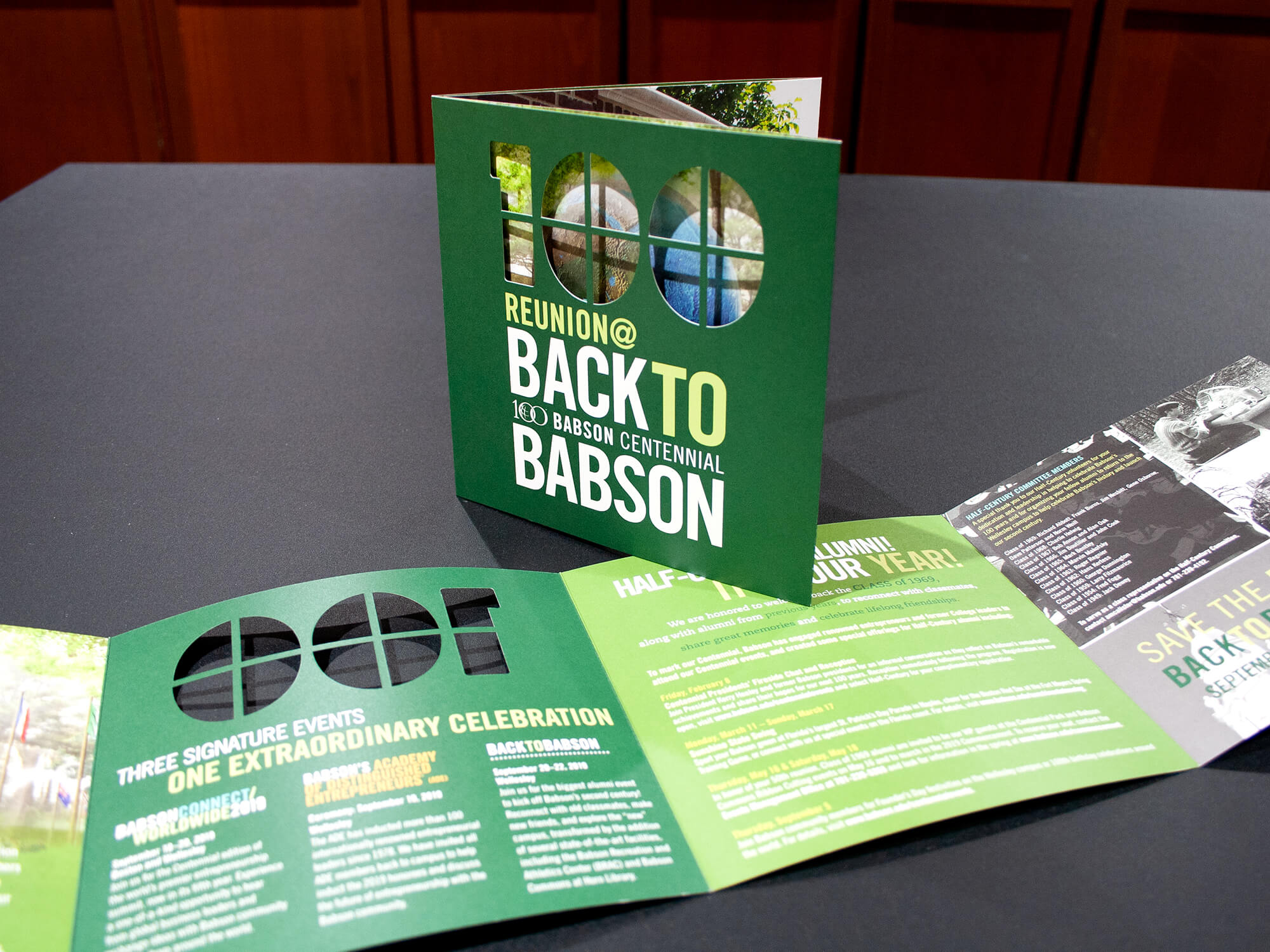 Babson University Back To Babson Brochure