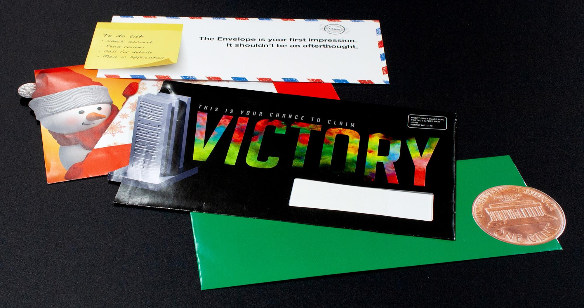 USPS-approved shape cut envelopes