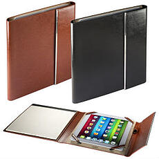leather portfolio tablet cover