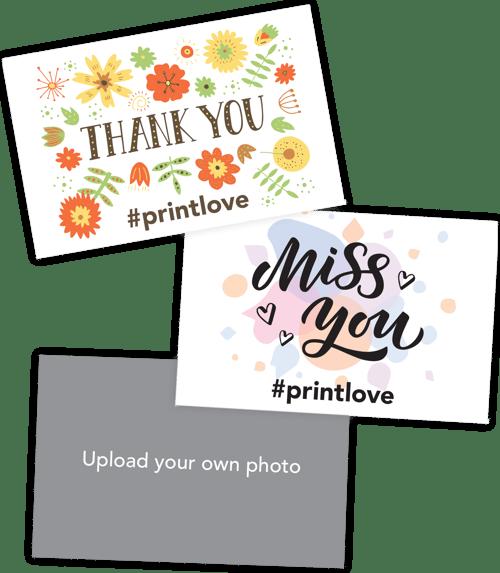 #PrintLove Postcards